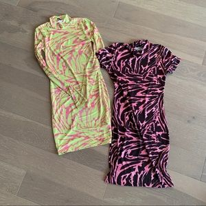 PrettyLittleThing bodycon dresses (set of 2)